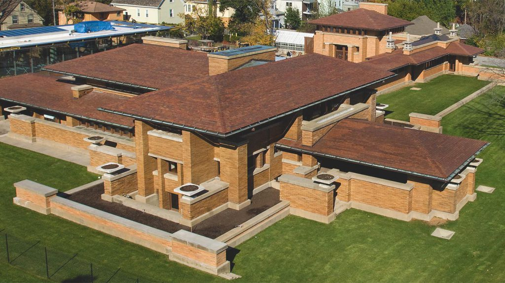 Darwin Martin House Grove Roofing Commercial Roof